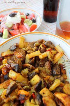 Τηγανιά λαχανικών με κουρκουμά... ο καλύτερος μπυρομεζές Vegan Vegetarian, Vegetarian Recipes, Greek Recipes, Dessert Recipes, Desserts, Going Vegan, Clean Eating, Food And Drink, Sweet Ideas