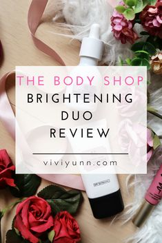 The Body Shop Brightening Duo First Impressions The Body Shop, Travel Style, Shopping, Beauty, Beauty Illustration