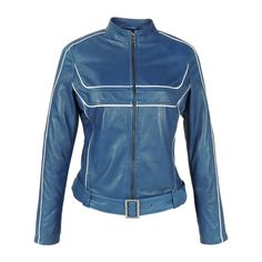 8f2f6b366a3 Arrow Stylish Comfortable Blue Leather Winter Classy Jacket for Women – Arrow  Shopping