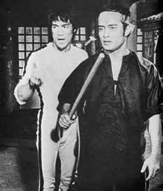 Bruce Lee and Dan Inosanto from the movie Game of Death