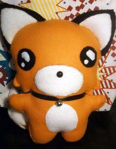 Chibi Fox Plushie by ~EmoRapunzle on deviantART