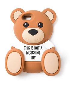 Not a moschino toy  #moschino #toy #teddy #bear #xgsmpl #xgsm #etui #phone #case #cover #iphone #samsung