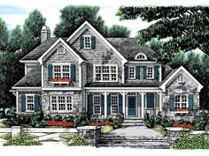 Eplans Country House Plan - Rustic Blend - 2983 Square Feet and 4 Bedrooms(s) from Eplans - House Plan Code HWEPL09992