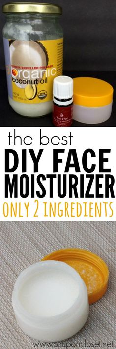 You have to try this DIY Face Moisturizer. With only 2 ingredients I know you are going to love this Homemade Face Cream
