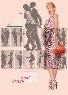 L'wren-scott-swing-dancing- Dance Pics, Dance Pictures, L'wren Scott, Lindy Hop, Swing Dancing, Just Dance, Summer Dresses, Formal Dresses, Sage