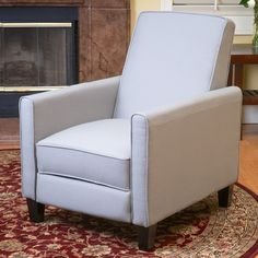 Darvis Recliner Club Chair by Christopher Knight Home