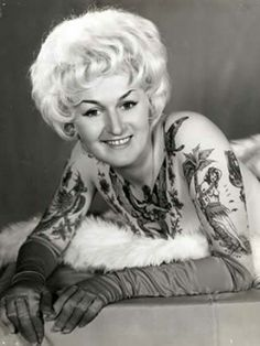Vintage Tattooed lady