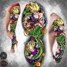 Naruto Tattoo, Anime Tattoos, Full Back Tattoos, Cover Up Tattoos, Z Tattoo, Tattoo Drawings, Tattoo Sleeve Designs, Sleeve Tattoos, One Piece Tattoos