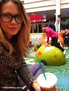 Bethany Joy Lenz on whosay: Just another at the mall. This play area is genius. Haley James Scott, Bethany Joy Lenz, One Tree Hill, Female Actresses, Womens Glasses, Always And Forever, Celebrities, Mall, Fun