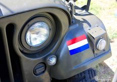 Militair Weekend Hembrug, Zaandam. Zaterdag 9 mei 2015. M38A1 Nekaf Jeep.