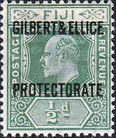Gilbert and Ellice Islands 1911 SG 1 Fiji Overprint Fine Mint SG 1 Scott 1 More British Commonwealth empire and Colonial Stamps Here Ellice Islands, Gilbert Islands, Buy Stamps, Fiji Islands, Island Nations, Solomon Islands, Commonwealth, Postage Stamps, Colonial