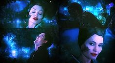 Diaval and Maleficent, probably one of my favorite parts of the movie.