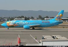 Alaska Airlines The Magic of Disneyland 737-400.