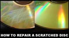 How To Easily Fix A Scratched DVD CD or Disc