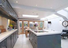 dream skylight kitchen
