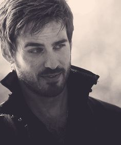 Colin O'donoghue\Captain Hook in Once Upon a Time. I fangirl over him badly.