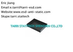 Black ESD Storage Tray , ESD tray For Anti Static Protection Area