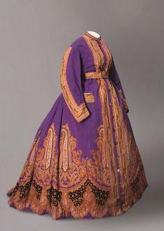 Housecoat, 1865, Musee de l'Impression sur Etoffes (France)