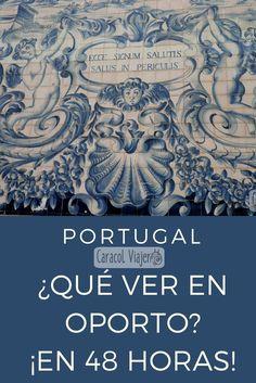 Un itinerario de dos días para conocer lo más emblemático de Oporto y su gastronomía. #Oporto #viajar #barato