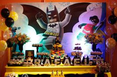 Memories Party: Tema Batman Lego