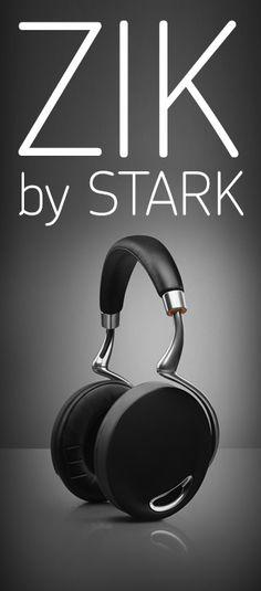 Zik headphones designed by Philippe Starck #audio #design #stark #theluxurywelove #igetit