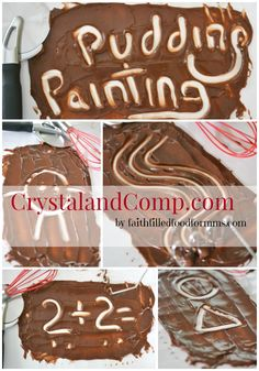 Pudding Painting Activities for Kids