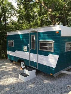"Meet ""Dolly""!  She is ready for the road! This spunky gal is a 1974 Aloha completely refurbished 16' camper with all new wood look flooring, new cushions and upholstery, new black out curtains, fre..."