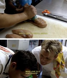 Getting accused of fucking a raw piece of meat: | A Ranking Of The 23 Best Ways To Get Owned By Gordon Ramsay