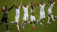 Algeria upset South Korea in six-goal thriller