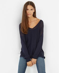 Pull loose VAHAMA - Couleur MIDNIGHT BLUE