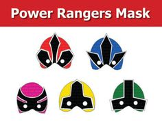power rangers cupcake ideas - Google Search