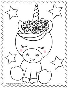 These printable unicorn coloring pages are perfect for anyone who loves these sweet magical creatures! And best of all they're free to print at home! Just use your favorite art supplies to bring these sweet unicorn coloring sheets to life! Kids Christmas Coloring Pages, Free Kids Coloring Pages, Coloring Pictures For Kids, Unicorn Coloring Pages, Free Printable Coloring Pages, Free Coloring, Coloring Pages For Kids, Coloring Sheets, Coloring Books
