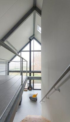 houses : Lofthome UK Ltd Steel Frame House, A Frame House, Modern Barn House, Small Modern Home, Build Your Own House, Container House Plans, Architectural Section, Loft House, Metal Buildings