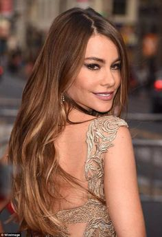 Sofia Vergara-Ombré Hair