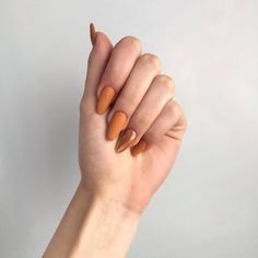 35 summer can also be recommended with Frosted nail style nails;bestnails Nails 35 summer can also be recommended with Frosted nail style - JimIamy Hair And Nails, My Nails, American Nails, Diva Nails, Autumn Nails, Fall Almond Nails, Simple Fall Nails, Fall Nail Designs, Nagel Gel