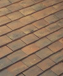 clay flat roof tiles
