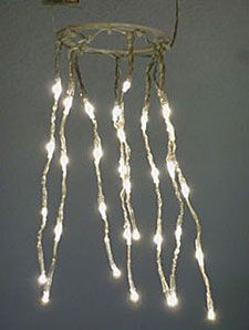 Check Out The Deal On Battery Operated Hanging Chandelier Lite Kit 32 Led S At