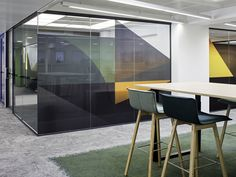 Inlook office spatial design / Sistem Interior Architects