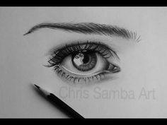 How I Draw a Realistic Eye