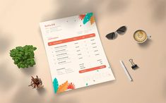 Sastia - Invoice Template Invoice Template, A4 Paper, Print Templates, Color Schemes, Stationery, Words, Card Templates Printable, R Color Palette, Paper Mill