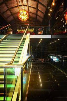 Groningen Holland Casino #nastro #chandelier #andromeda #murano #venice #glass #luxury #light #design #architecture