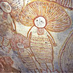 Kimberley, Australia rock art - Wanjinas