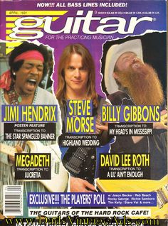1991 April Guitar for the Practicing Musician Magazine Back-Issue