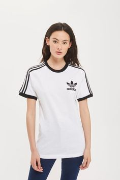 California 3-Stripe T-Shirt by Adidas Originals