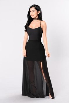 Available in Black and Rust Spaghetti Strap Maxi Dress Sheer Bottom Made in USA Polyester Lil Black Dress, Bridal Party Dresses, Fashion Forever, Sheer Dress, Cheap Dresses, Dress Me Up, Beautiful Dresses, Beautiful Ladies, Fashion Models