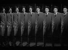 The Lady from Shanghai (1947)  Film Noir, Everett Sloane, Orson Welles, Mirror Scene
