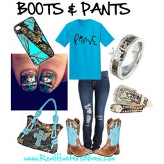 """""""bLuE aNd cAMo!!!"""" by realhunterswives on Polyvore"""