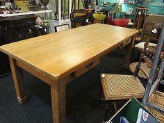 Küchentisch Esstisch Wohnzimmertisch Tisch Eiche massiv riesig €295
