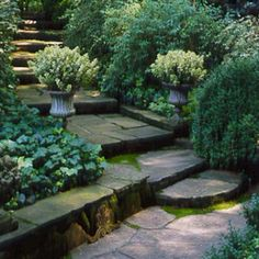steps and stonework