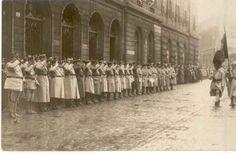 Trecerea în revistă a trupelor, (niv. Wwi, First World, Troops, Romania, World War, History